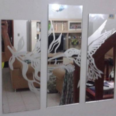 Espelho Decorativo Jateado