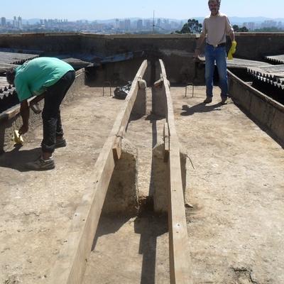 troca de telhados