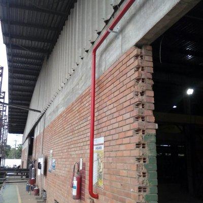Tubulação Hidrantes contra Incendio Medabil Serra ES