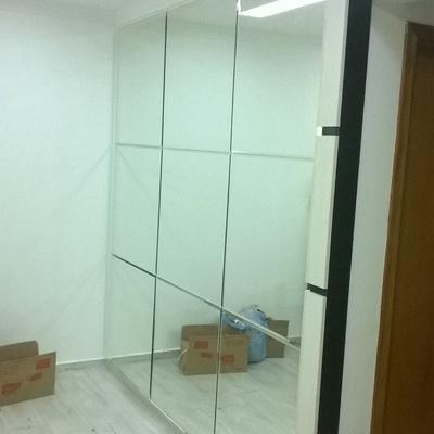 Espelho Arquitetura tipo Montagem Bisotê