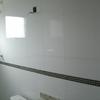 Revestimento de borracha em escada de alvenaria