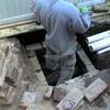 Reforma de varanda e construção de piso