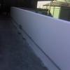 Aplicação de pu em toda a área de telhado do galpão localizado em anápolis