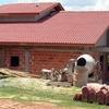 Construção Telhado galvanizado 80