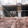 Construção de estrutura de concreto armado e alvenarias