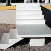 Construção de uma escada pré moldada de concreto