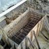 Polimento de ardosia em hall de predio de 2 andares