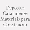 Deposito Catarinense Materiais para Construcao