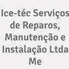 Ice-téc Serviços De Reparos, Manutenção E Instalação Ltda Me