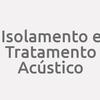 Isolamento E Tratamento Acústico