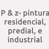 P & Z- Pintura Residencial, Predial, E Industrial