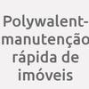 Polywalent- Manutenção Rápida de Imóveis