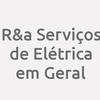 R&a Serviços De Elétrica Em Geral