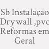 Sb Reformas Em Geral