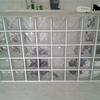Construir parede de tijolos de vidro