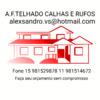 A.f.telhado Calhas E Rufos