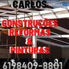 Carlos construções, reformas e pinturas