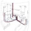Mudar Pontos de Agua Fria, Quente, Esgoto e Prumadas