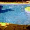 Troca de vinil de piscina