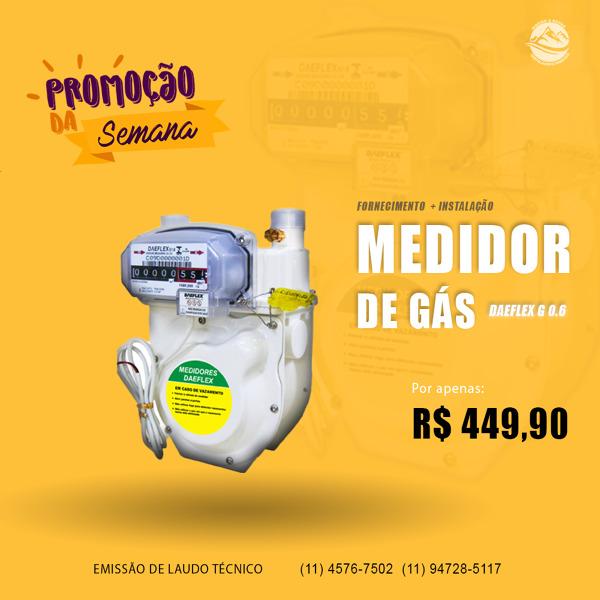Instalação de Medidor de Gás