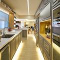 Cozinha integrada com as salas