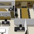 Desenvolvimento de projeto de interiores