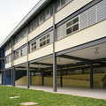 Escola em estrutura metálica