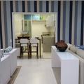 Estar e cozinha integrados
