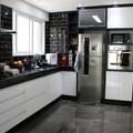 Gabinete e torre para cozinha.