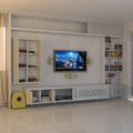 Home theater em apartamento