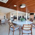 Integração Varanda, Jantar e Cozinha - PentHouse ARA