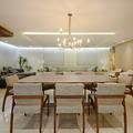 Jantar e Living integrados - PentHouse ARA