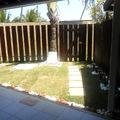Jardim varanda externa.