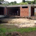 Limpeza e demarcação da área a ser escavada