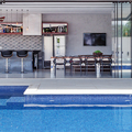 Metrik Design - Arquitetura e Interiores - Área de Festas GR