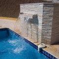 piscina em azulejo concreto armado