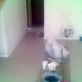 piso na sala