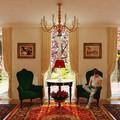 Sala de estar - Casa Suiça