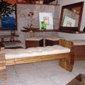 Sala de estar com aproveitamento de quina