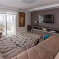Sala de estar integrada