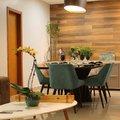 Salas de jantar e estar