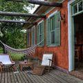 terraço com rede