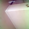 vista da sala para o corredor