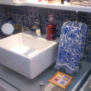 Banheiro pronto!