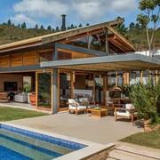 Casa e telhado, realizados com sucesso.