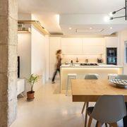 cozinha branca integrada