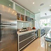 cozinha corredor integrada