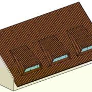 Execução de Telhado com mansardas