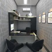 HOME OFFICE , PRETO E BRANCO