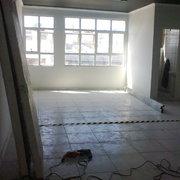 Início de salas em drywall